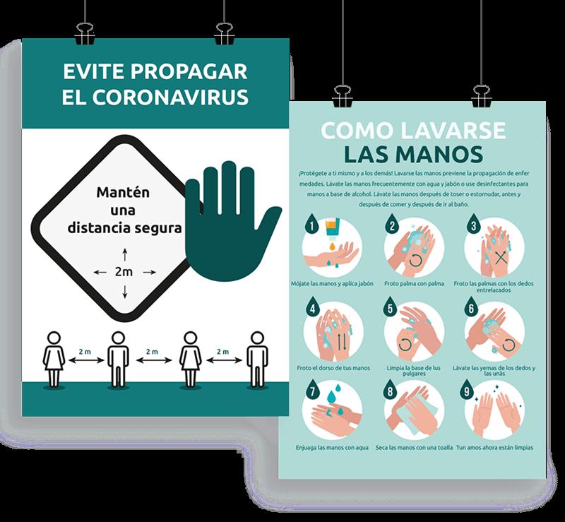 Imagen para la categoría Stop Corona Pósters