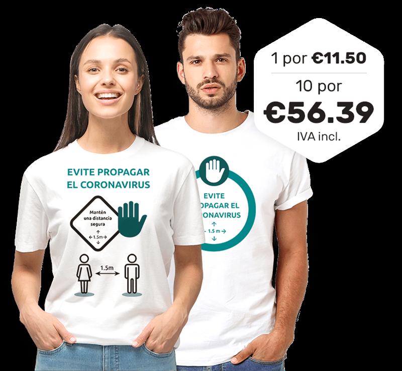 Imagen para la categoría Stop Corona Camisetas