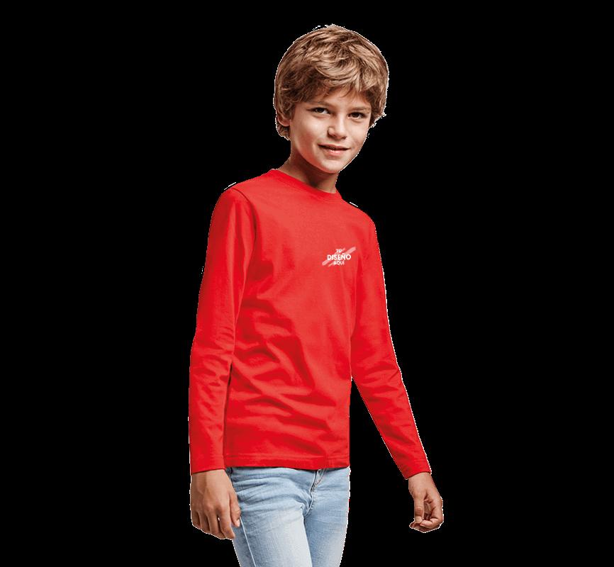 Imagen para la categoría Camisetas Manga Larga Niño