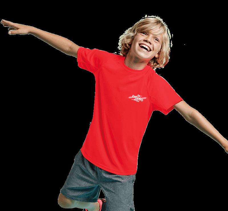 Imagen para la categoría Camisetas de Deporte Manga Corta Niño
